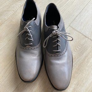 Cole Haan Grand Leather Saddle Oxfords